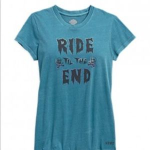 Harley-Davidson Ride Til The End V-Neck Tee
